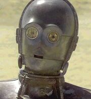 C-3PO silver