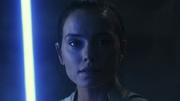 Rey erblickt Kylo Ren