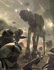 AT-AT vs Rebellen
