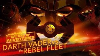 Darth Vader vs. the Rebel Fleet - Fearsome Fighter Pilot Star Wars Galaxy of Adventures