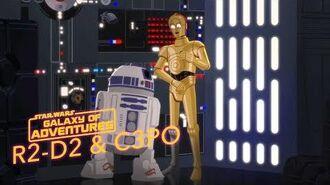 STAR WARS – GALAXY OF ADVENTURES R2D2 und C3PO – Rettung im letzten Moment Star Wars Kids