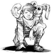 Ikrit mit Anakin Solo