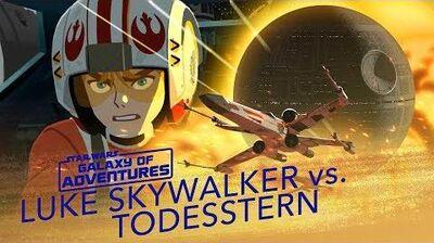 STAR WARS – GALAXY OF ADVENTURES Luke vs