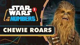Every Chewbacca Roar, Grunt, and Growl in the Original Trilogy Star Wars By the Numbers