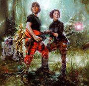 Luke & Leia (Mimban)
