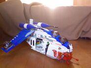Das ARC Kanonenboot aus LEGO