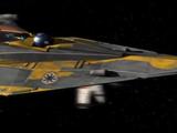 Anakin Skywalkers Delta-7B-Aethersprite-Klasse-Abfangjäger