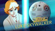 Luke Skywalker - Lightsaber Training Star Wars Galaxy of Adventures