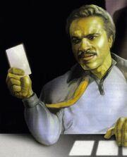 Lando spielt Sabacc