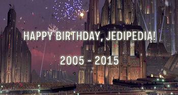Jedipedia Geburtstag