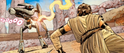 Rey gegen Arkay-9