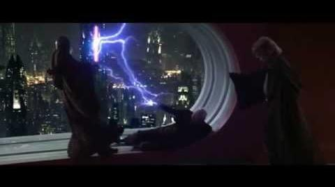 Star Wars - Mace Windu vs. Chancellor Palpatine (Darth Sidious)