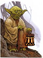 Yoda auf Dagobah