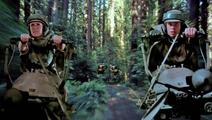 Luke and Leia speederbike