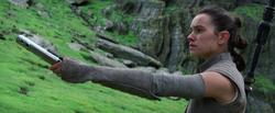 Rey und das Lichtschwert