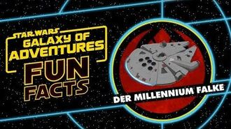 STAR WARS – GALAXY OF ADVENTURES FUN FACTS Der Millennium Falke Star Wars Kids