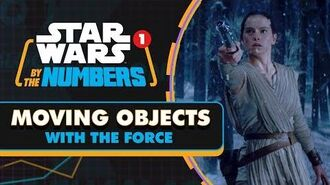 Every Time an Object is Moved with the Force in Star Wars Star Wars By the Numbers
