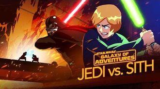 Jedi vs. Sith - The Skywalker Saga Star Wars Galaxy of Adventures