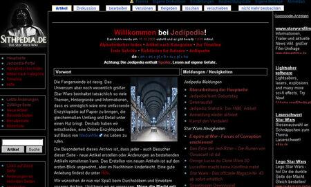 Jedipedia Sithpedia