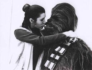Leia-Chewie