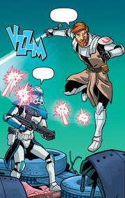 Obi-Wan rettet Rex