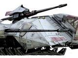 Unsicheres-Terrain-Artillerietransporter