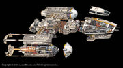 Y-Wing Cutaway