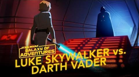 Luke Skywalker vs. Darth Vader – Join Me Star Wars Galaxy of Adventures