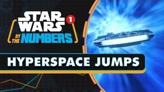 Every Hyperspace Jump in the Star Wars Movies Star Wars By the Numbers
