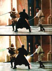 Schwertkampf-Vergleich