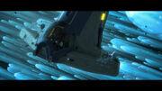 Sep. shuttle B im Kometenhagel