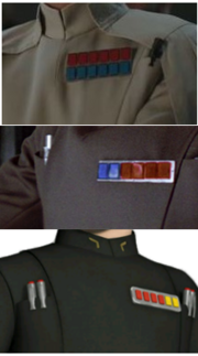 Imperium Admiral Plaketten