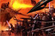 Hyperraum Krieg (Coruscant)