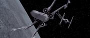 X-Flügler gegen TIE-Jäger