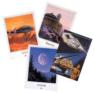 Star Tours Travel Posters