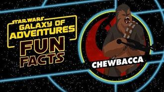 STAR WARS – GALAXY OF ADVENTURES FUN FACTS Chewbacca Star Wars Kids