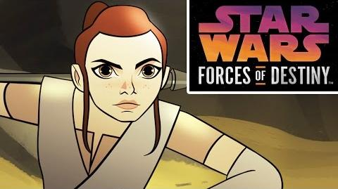 Star Wars Forces of Destiny First Look Disney