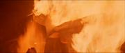 Darth Vader Verbrennung