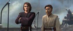 Obi-Wan gratuliert Anakin (Yerbana)