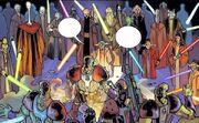 Kampf im Jedi Tempel gegen die Yinchorri