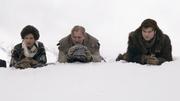 Val, Tobias und Solo planen