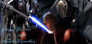 Anakin wird getötet von Grievous Kopie