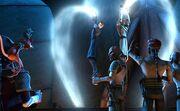 Obi-Wan und Anakin Folter