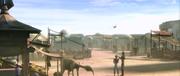 Wüstenstadt auf tatooine