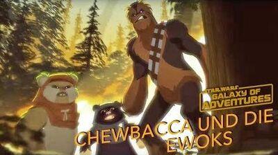 STAR WARS – GALAXY OF ADVENTURES Chewbacca und die Ewoks - Kampfläufer Entführung Star Wars Kids