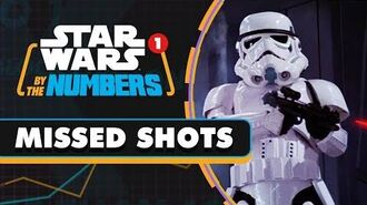 Every Stormtrooper Blaster Shot in the Death Star Escape Star Wars By the Numbers
