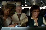 Flug nach Alderaan