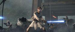 Obi-Wan rettet Cody