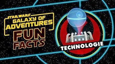 STAR WARS – GALAXY OF ADVENTURES FUN FACTS Technologie Star Wars Kids
