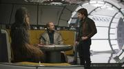 Tobias Beckett spielt mit Chewbacca Dejarik